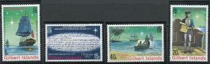 Gilbert Islands 300-303 MNH (1977)