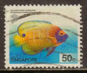 Singapore  #994  Used  (2001)  c.v. $1.00