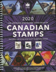 New 2020 The Unitrade Specialized Catalogue of Canadian Canada Stamps 760 pages