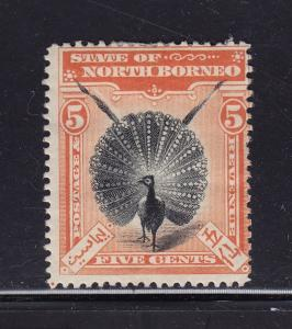 North Borneo Scott # 83 original gum mint prev. hinged cv $ 110 ! see pic !