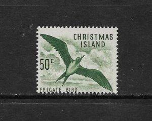 BIRD - CHRISTMAS ISLAND #19 FRIGATE BIRD  MLH