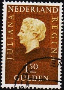 Netherlands. 1969 1g50. S.G.1080 Fine Used