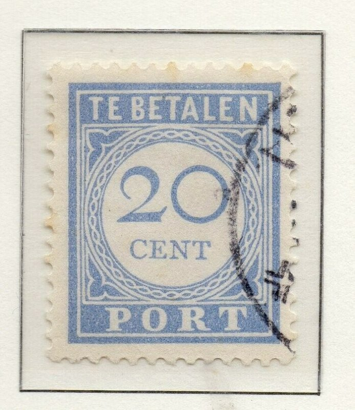 Netherlands 1912-21 Early Issue Fine Used 20c. NW-147272