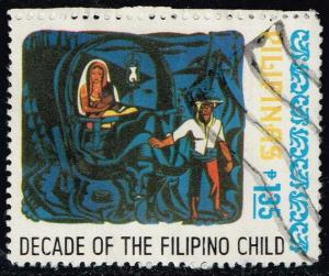 Philippines #1371 Decade of Philippine Children; Used (0.25)