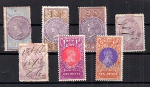 New South Wales QV-KEVII Stamp Duty collection WS16633