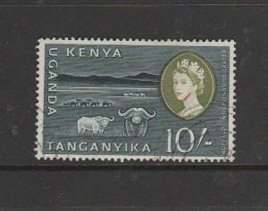 KUT 1960/2 10/- FU SG 197