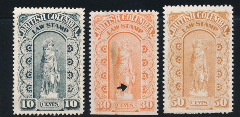 CANADA BRITISH COLUMBIA BCL9-11 USED 3RD SERIES, LAW