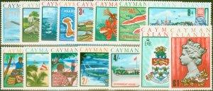 Cayman Islands 1969 set of 15 SG222-236 V.F MNH