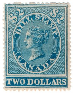 (I.B) Canada Revenue : Bill Stamp $2