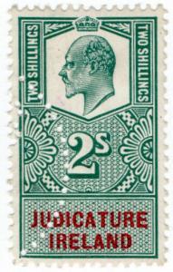 (I.B) Edward VII Revenue : Judicature Ireland 2/-
