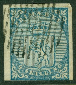 EDW1949SELL : NORWAY 1851 Scott #1 Numeral 5 cancel.