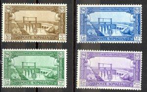 Somalia Sc# B33-B36 MH 1930 Irrigation Canal Semi Postal