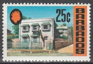 Barbados  #338  MNH   (K348)