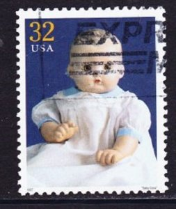 3151f American Dolls: Baby Coos used Single