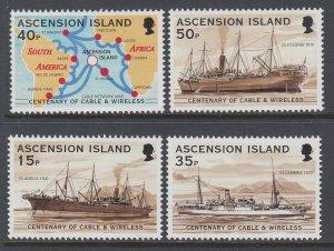 Ascension 746-749 Ships MNH VF