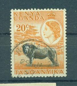 Kenya , Uganda & Tanzania sc# 107 used cat value $.25