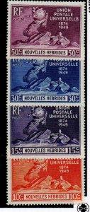 New Hebrides (Fr.) 79-82 Set Mint Hinged