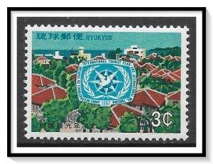 Ryukyu Islands #162 Tourist Year MNH