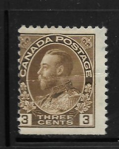 CANADA, 108, MINT HINGED, KING GEORGE V