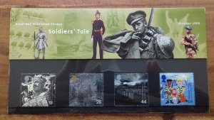 Great Britain 1999 A Soldiers Tale Mint