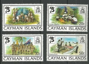 1982 Cayman Islands Boy Scout 75th anniversary