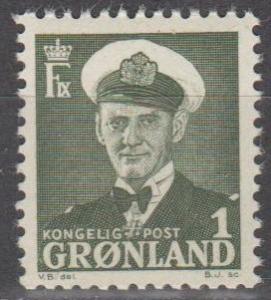 Greenland #28 MNH VF (ST1767)