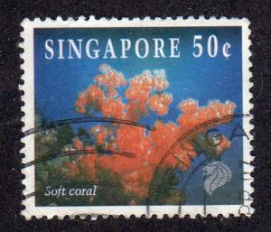Singapore 680 - Used - Soft Coral (cv $0.90) (2)