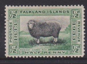 Falkland Islands Sc#65 MVLH