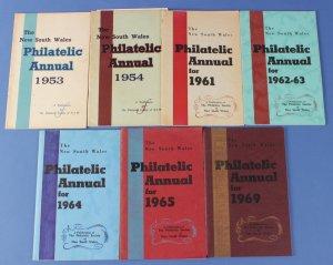 AUSTRALIA : New South Wales Philatelic Annual (7) 1953-69