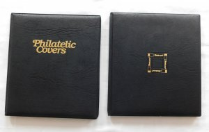 Supplies - Two Cover Album Portfolios, each 4 Sleeves (8/16 cover capacity)