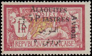 1925 Alaouites #C3, Incomplete Set, Hinged