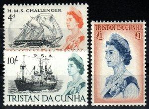 Tristan Da Cunha #113-5 MNH CV $28.00 (X1383)