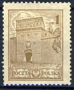 POLOGNE / POLAND - 1926 1Gr brown Mi.233.II - Mint no gum
