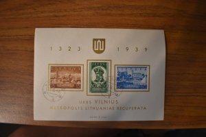 LITHUANIA  316A   USED