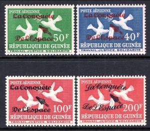 Guinea C35-C38 MNH VF
