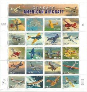 Classic American Aircraft  19 JUL 1997  Scott 3142a-t Pn-20 32c Airplanes