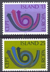 Iceland Sc# 447-448 MNH 1973 Europa