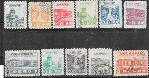 Colombia #C134-C1438   ( U)  CV $6.60