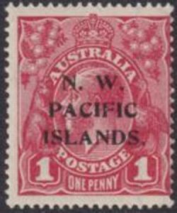North West Pacific Islands 1918 SC 41a MNH