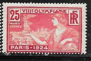 France #199 25c Trophy (U) CV$3.00