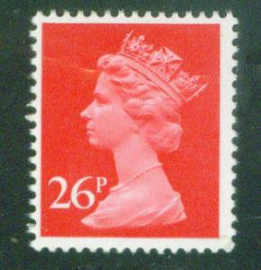 Great Britain Scott MH130 26p MNH** Machin stamp