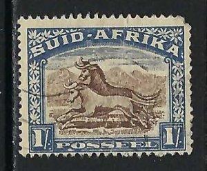 SOUTH AFRICA 43b VFU Z4700-6