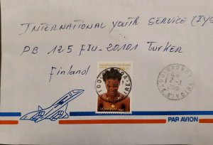 O) 2001 IVORY COAST. STEREOTYPE OF THE WOMAN - HAIRSTYLES, INTERNATIONAL SERVICE