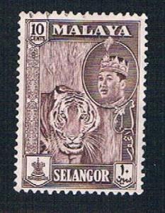 Malaya Selangor 119 Used Sultan Shah (BP22619)