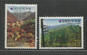KOREA, 842-843, H, MOUNTAIN