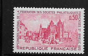 FRANCE, 1344, MNH, CATHEDRAL SAINT-BRIEUC