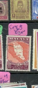 MALAYA  FEDERATION  (PP1311B)  MAP    SG 4A     VFU