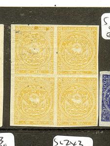 ECUADOR (P0812B) SC4D   BL OF  4   MOG