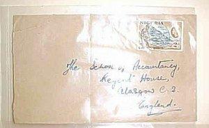 NIGERIA  CAMEROUNS 1965 TORIA TO ENGLAND