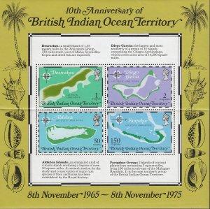 British Indian Ocean Territory 85a MNH
